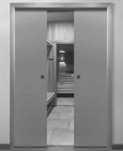 système coulissant pour porte / bois