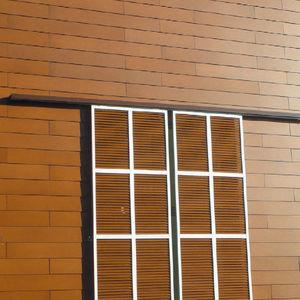 volets coulissants / fixes / en bois / pour façades