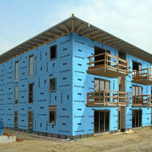 panneau de construction en plâtre