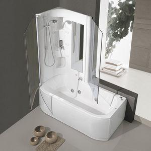 baignoire-douche rectangulaire