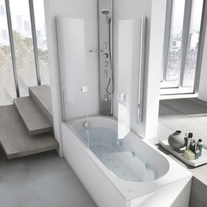 baignoire-douche encastrable