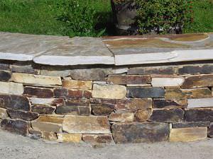 bordure en pierre naturelle / autres formes