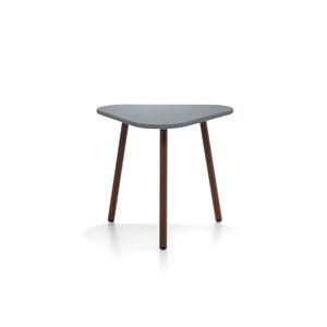 table d'appoint contemporaine / en teck / en aluminium / en HPL