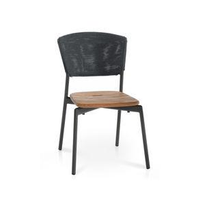 chaise contemporaine / empilable / avec coussin amovible / en Batyline®