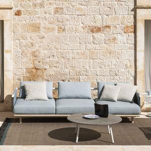 canapé de jardin / modulable / contemporain / de terrasse