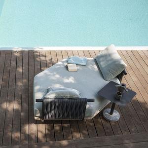 canapé de jardin / modulable / contemporain / d'accueil