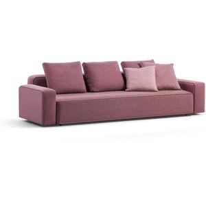 canapé modulable / contemporain / d'extérieur / en tissu