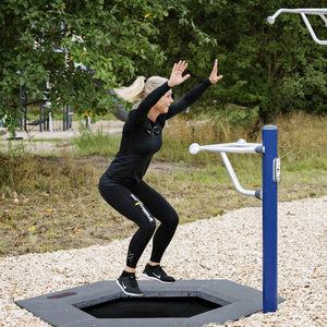 trampoline de gymnastique