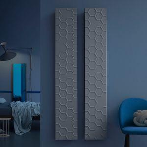 radiateur à eau chaude / en métal / contemporain / rectangulaire