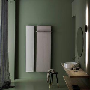 sèche-serviettes à eau chaude / électrique / en pierre naturelle / contemporain