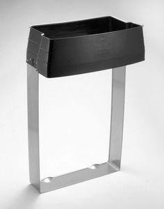 support de sac poubelle public / sur piétement / en métal / professionnel