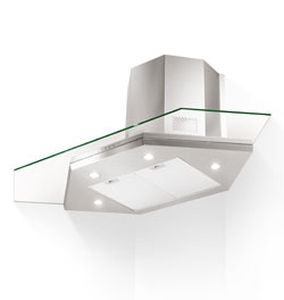 hotte de cuisine d'angle / avec éclairage intégré