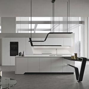 cuisine contemporaine / en marbre / en quartz / en granite