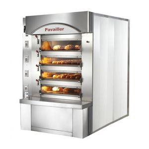 four professionnel / électrique / encastrable / pour boulangerie