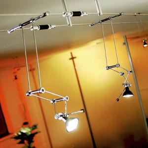 éclairage sur câble halogène