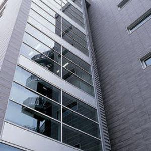 façade ventilée en grès cérame