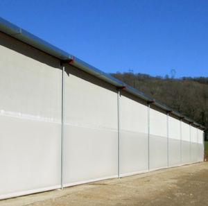 membrane architecturale en maille