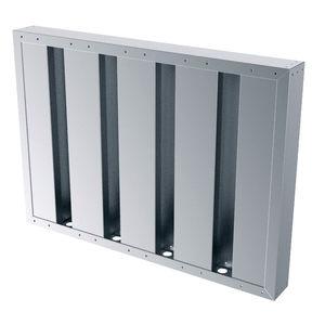 grille de ventilation en aluminium / en inox / en acier galvanisé / carrée