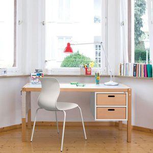 bureau en bois / contemporain / pour crèche / avec rangement intégré