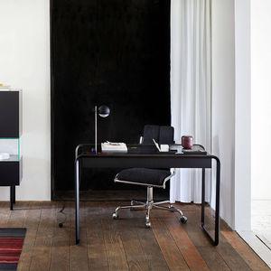 bureau en chêne / en plaqué bois / en noyer / contemporain