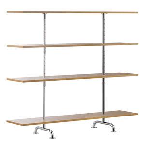 étagère contemporaine / en bois laqué / en chêne / en frêne