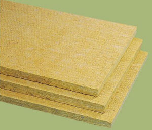 isolant thermo-acoustique / en laine de roche / en panneaux rigides / Euroclasse A1