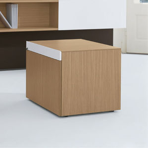 caisson de bureau en aluminium