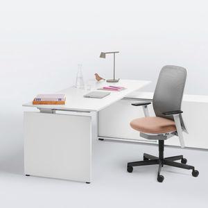 bureau de direction / en plaqué bois / contemporain / professionnel
