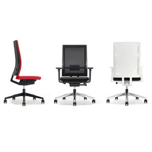 fauteuil de bureau contemporain / en tissu / en résille / en polypropylène