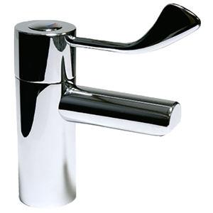 mitigeur pour vasque / en laiton / thermostatique / 1 trou