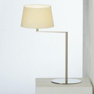 lampe de table / contemporaine / en métal / en lin