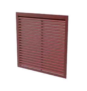 grille de sécurité fixe / en aluminium / anodisé