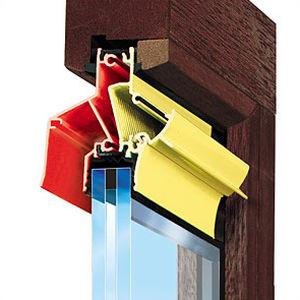 aérateur de fenêtre imperméable / à coupure thermique
