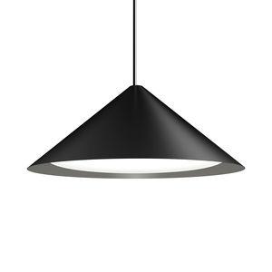 plafonnier design minimaliste / conique / en aluminium / en verre
