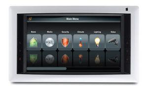 écran tactile pour système domotique multifonction / mural