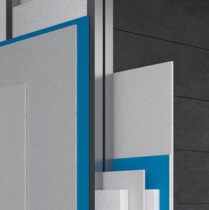 isolant acoustique / en polyoléfine / pour mur / pour plafond