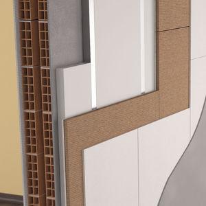 isolant thermo-acoustique / en fibre de bois / pour mur / pour plafond