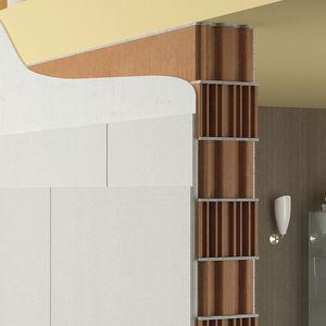 isolant acoustique / pour mur / en panneaux / recyclable