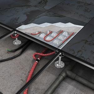 plancher technique en métal