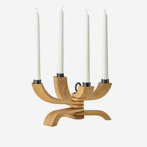 chandelier en chêne