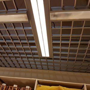 faux-plafond en aluminium / en dalles / décoratif