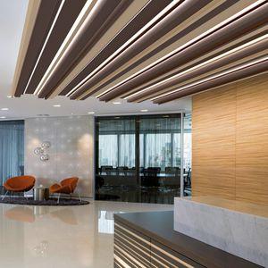 faux-plafond en aluminium / en acier / en lames / acoustique