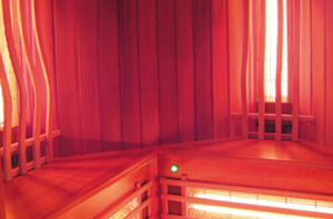 sauna infrarouge / professionnel.