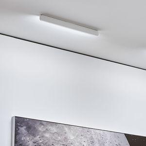 plafonnier contemporain / linéaire / en verre / en aluminium
