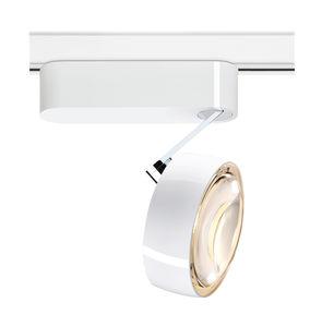 éclairage sur rail halogène / à LED / rond / en métal