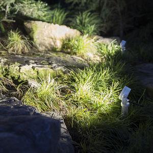 spot mural / de jardin / à LED / rond