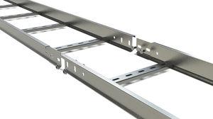 échelle à câbles d'aluminium
