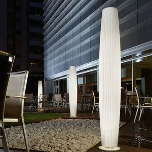 colonne lumineuse contemporaine / en polyéthylène / fluorescente / d'intérieur