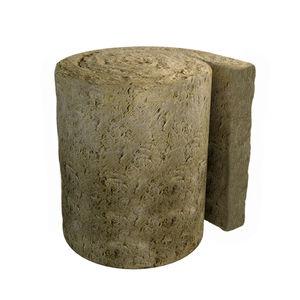 isolant thermo-acoustique / en laine de roche / pour toiture métallique / pour façade