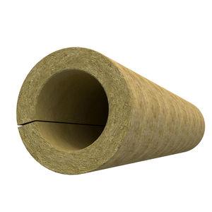 isolant thermo-acoustique / en laine de roche / pour canalisations / pour CVC